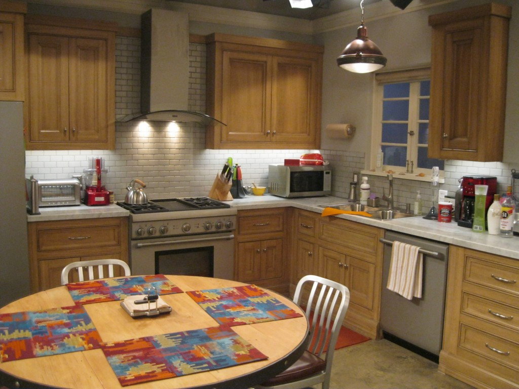 Jon Cryer's favourite room on the Two and a Half Men set: the kitchen