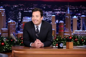 THE TONIGHT SHOW STARRING JIMMY FALLON -- Episode 0388 -- Pictured: Host Jimmy Fallon on December 15, 2015 -- (Photo by: Douglas Gorenstein/NBC)