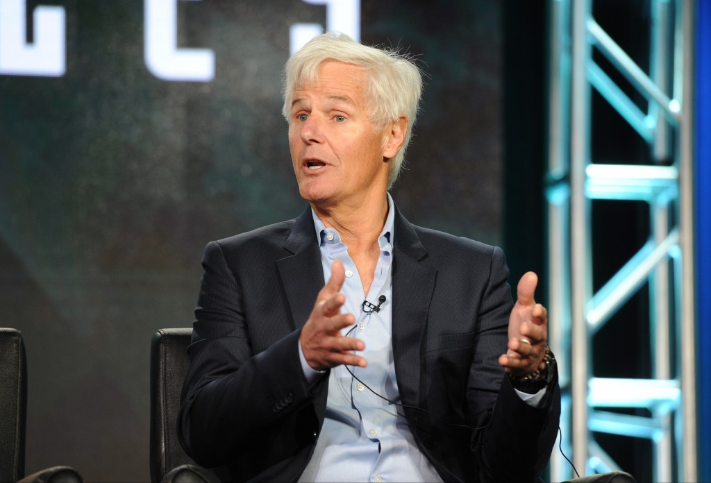 2016 FOX WINTER TCA: Creator/Executive Producer Chris Carter during THE X FILES panel at the Langham Hotel, Friday, Jan. 15 in Pasadena, CA. CR: Frank Micelotta/FOX