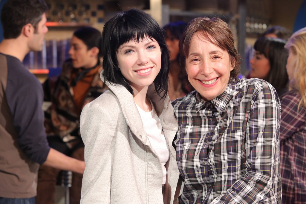 GREASE: LIVE: (L-R) Carly Rae Jepsen and Didi Conn rehearse for GREASE: LIVE airing LIVE Sunday, Jan. 31, 2016 (7:00-10:00 PM ET live/PT tape-delayed), on FOX. Cr: Kevin Estrada/FOX