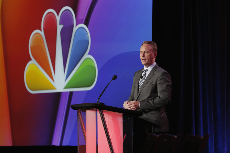 "NBCUNIVERSAL EVENTS -- NBCUniversal Press Tour, January 2016 -- ""NBC Executive Session"" -- Pictured: Robert Greenblatt, Chairman, NBC Entertianment -- (Photo by: Chris Haston/NBCUniversal)"