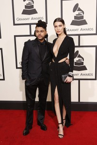 The Weeknd on the Red Carpet at THE 58TH ANNUAL GRAMMY AWARDS broadcast on the CBS Television Network on Monday, Feb. 15, 2016 (8:00-11:30 PM, live ET) at STAPLES Center in Los Angeles. Photo: Trae Patton/CBS ©2016 CBS Broadcasting, Inc. All Rights Reserved