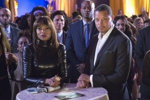 EMPIRE: L-R: Taraji P. Henson and Terrence Howard in the ÒEt Tu, Brute?Ó episode of EMPIRE airing Wednesday, Dec. 2 (9:00-10:00 PM ET/PT) on FOX. ©2015 Fox Broadcasting Co. Cr: Chuck Hodes/FOX.