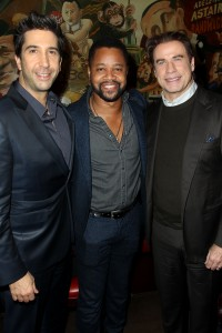 "- New York, NY - 12/7/15 - fox21 Television Studios Presents the Special New York Screening & Dinner for ""American Crime Story: The People v. O.J. Simpson"". -PICTURED: David Schwimmer, Cuba Gooding Jr., John Travolta -PHOTO by: Marion Curtis/Starpix -Filename: MC_15_01087609.JPG -Location: The Monkey Bar Startraks Photo New York, NY For licensing please call 212-414-9464 or email sales@startraksphoto.com Image may not be published in any way that is or might be deemed defamatory, libelous, pornographic, or obscene. Please consult our sales department for any clarification or question you may have. Startraks Photo reserves the right to pursue unauthorized users of this image. If you violate our intellectual property you may be liable for actual damages, loss of income, and profits you derive from the use of this image, and where appropriate, the cost of collection and/or statutory damages."
