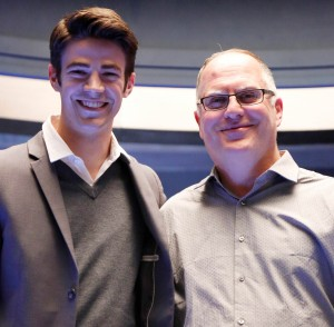 The Flash, International Press Junket, on December 10, 2015, Vancouver, BC, Canada