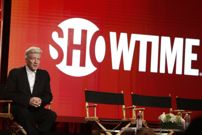 David Lynch at the Showtime TCA Winter Press Tour 2017 Twin Peaks Panel in Pasadena, CA on January 9, 2017. Photo: Eric Charbonneau/AP Invision for SHOWTIME