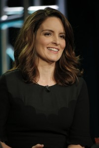 "NBCUNIVERSAL EVENTS -- NBCUniversal Press Tour, January 2017 -- NBC's ""Great News"" Session -- Pictured: Tiny Fey, Executive Producer -- (Photo by: Chris Haston/NBCUniversal)"