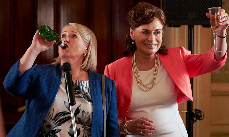 Reitman goes back to work on Workin' Moms – brioux tv
