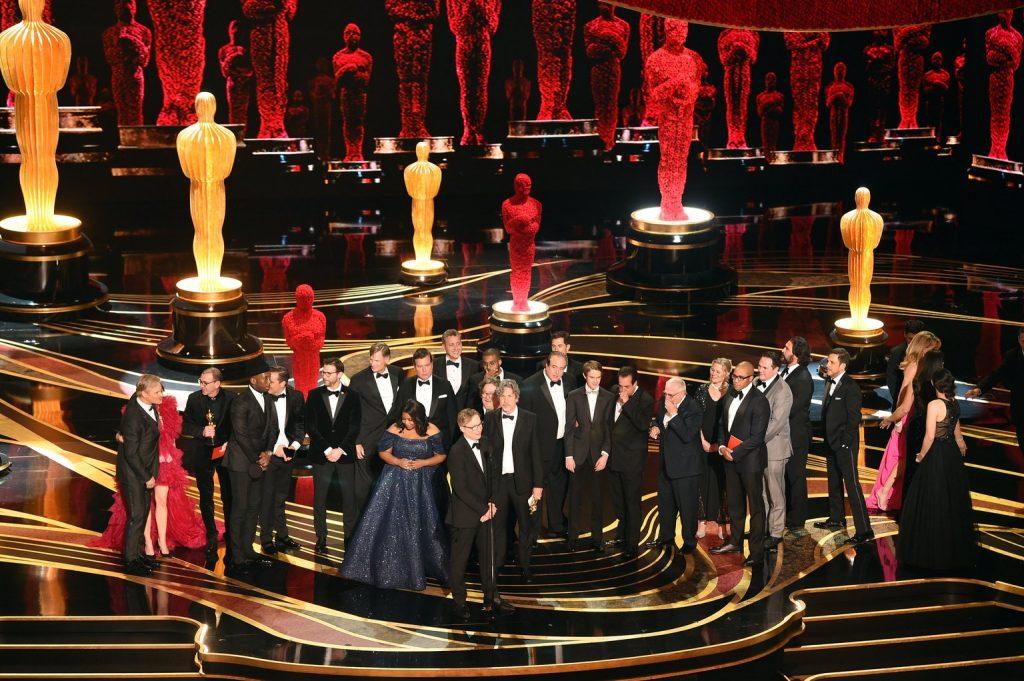 VIDEO: hostless Oscars sees slight audience resurgence