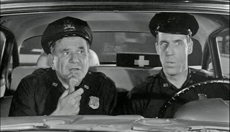 The time Hugh Downs got pulled over on Car 54 Where Are You?