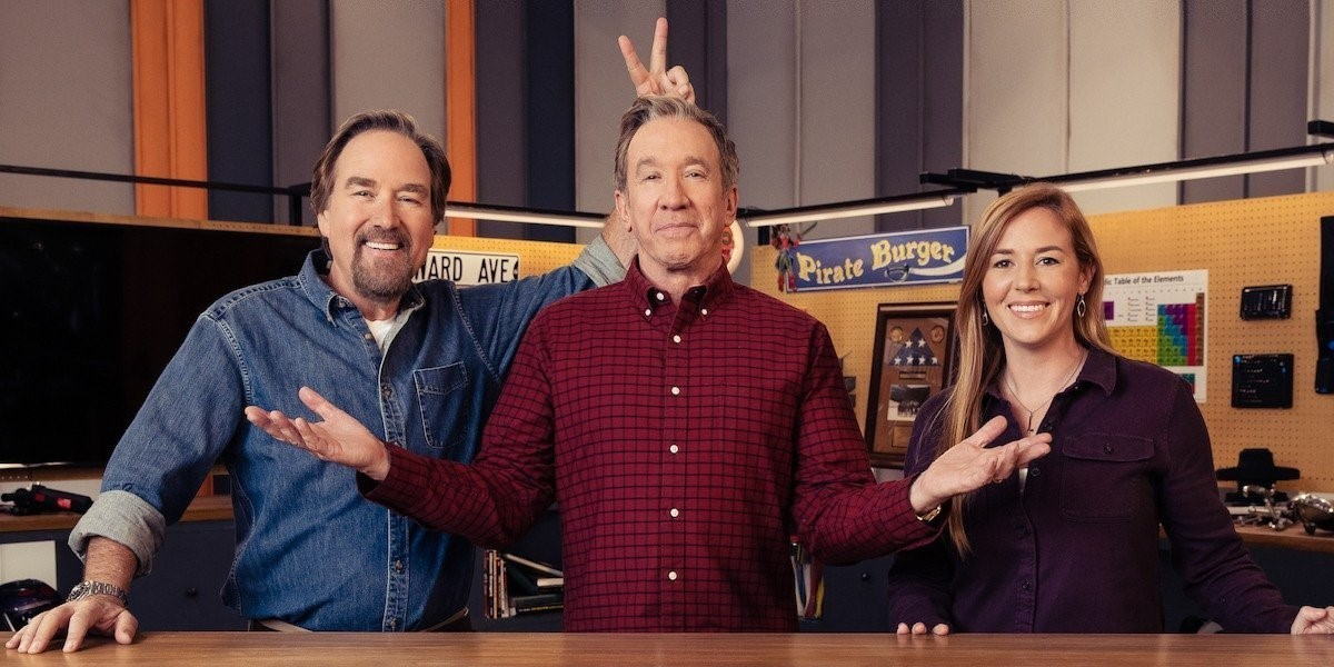 Tim Allen and Richard Karn reunite to re-assemble Tool Time