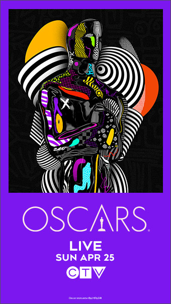 The Oscars Sunday April 25 on CTV